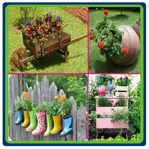 DIY Garden Ideas From Secondhand