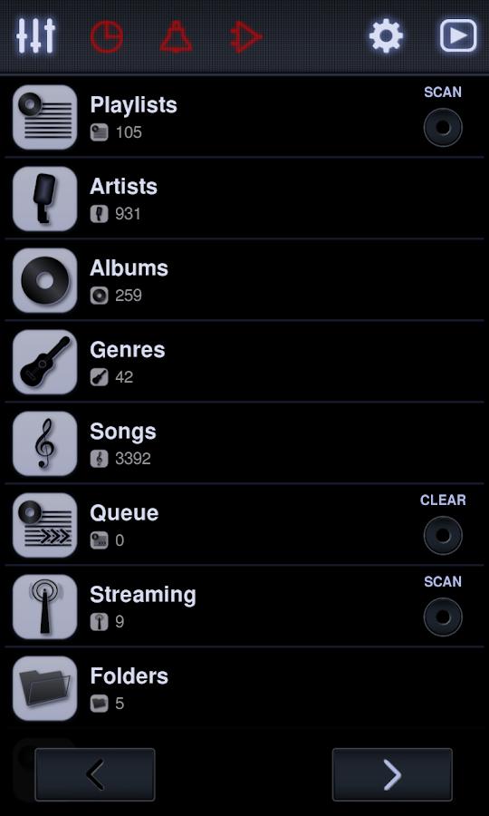 Neutron Music Player- screenshot
