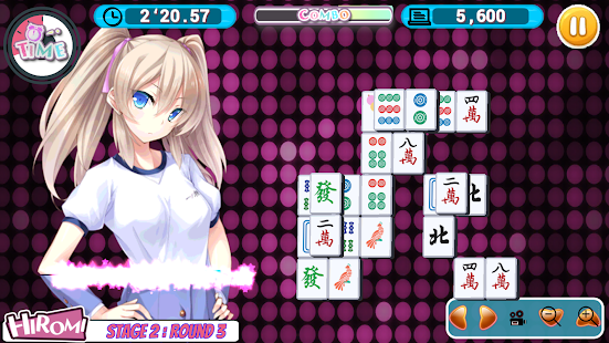 Pretty Girls Mahjong Solitaire - náhled