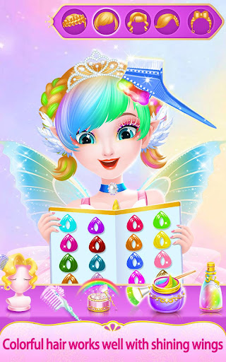 Sweet Princess Fantasy Hair Salon 1.0.6 screenshots 7