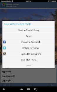 iWatermark Free Add Watermark Text Logo Pic TM Screenshot