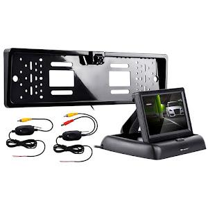 Camera auto spate TRACER RView S1 Wireless, Negru