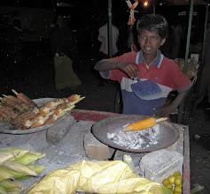 Photo: Roasted Corn Mysore India