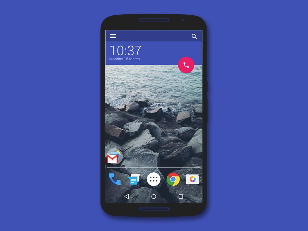 Zooper widgets android lollipop