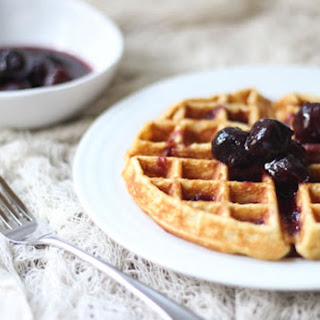 Sorghum, Honey, & Cornmeal Waffles