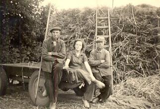 Photo: Hendrik Raterink, Hennie Paas en Gerhardus Paas