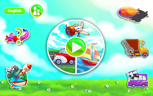 Learning Transport Vehicles for Kids and Toddlers 1.2.1 screenshots 1