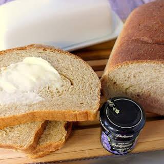 Easy To Make Homemade Whole Wheat Honey Ricotta Yeast Bread.