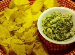Easy Spinach Artichoke Dip Recipe