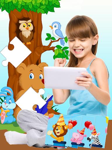 54 Animal Jigsaw Puzzles for Kids ud83eudd80 screenshots 1