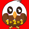 First grade math games free icon
