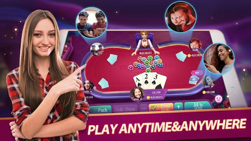 Teen Patti Plus - Online Poker Game 1.300 screenshots 1