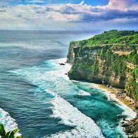 Uluwatu by Frans Priyo - Landscapes Beaches ( lanscape, beautiful, travel, beach, destination )