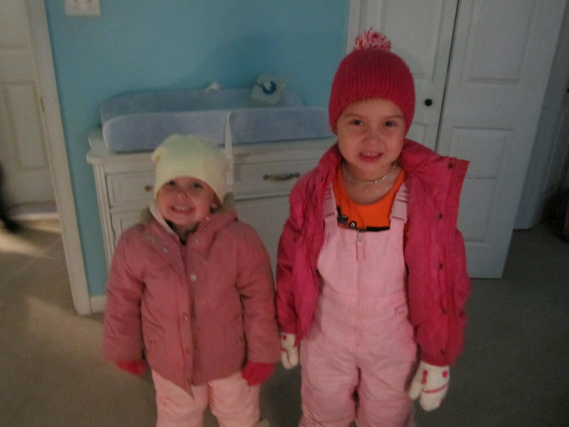Photo: My nieces Jessica and Kenzie.