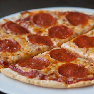 Grain-free and Gluten-free Cast Iron Pizza.