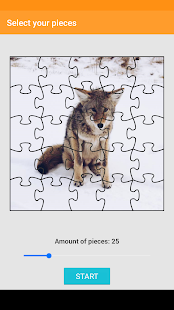 Wolf Puzzle - náhled