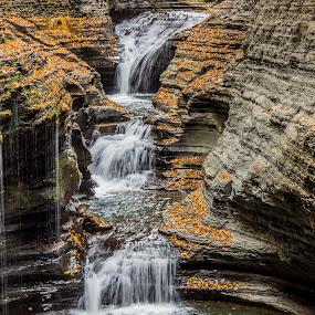 Waterfall pool by John Sinclair - Landscapes Waterscapes ( waterscape, waterfall,  )