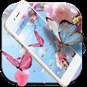 Launcher Pink Sakura icon