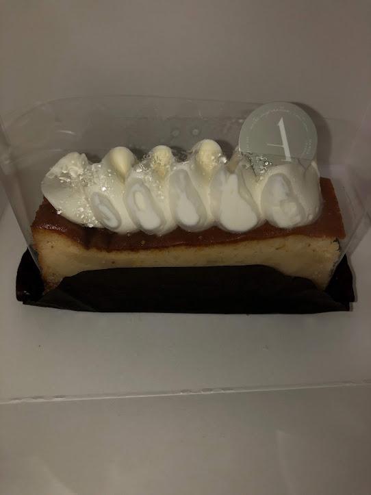 白カビチーズケーキ