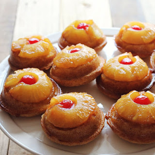 Mini Pineapple Upside Down Cakes March 29, 2013