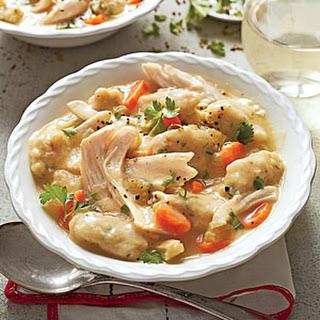 Chicken and Gnocchi.