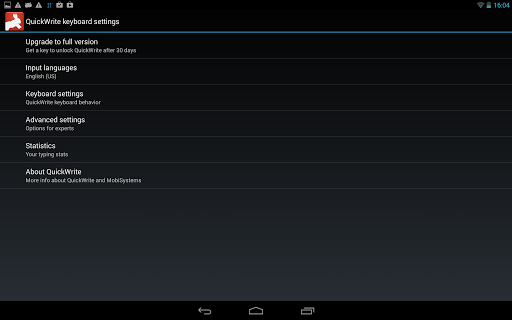 OfficeSuite QuickWrite screenshot 4