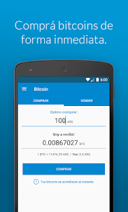 Ripio Bitcoin Wallet- screenshot thumbnail
