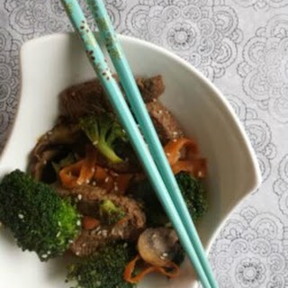 Quick Sesame Beef and Broccoli