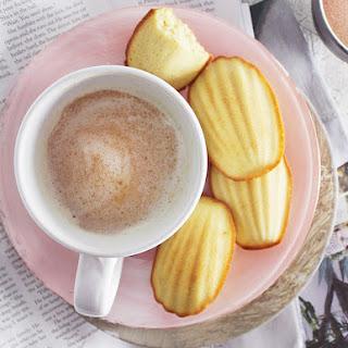 Brown-Butter Maple Madeleines