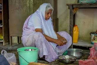 Photo: Preparing The Meal Northern Sri Lanka