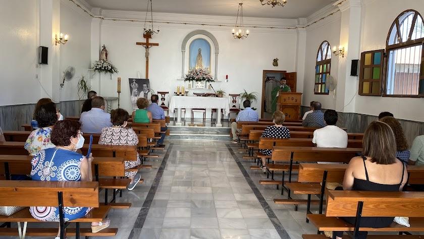 Misa en Honor a la Virgen de Fátima.
