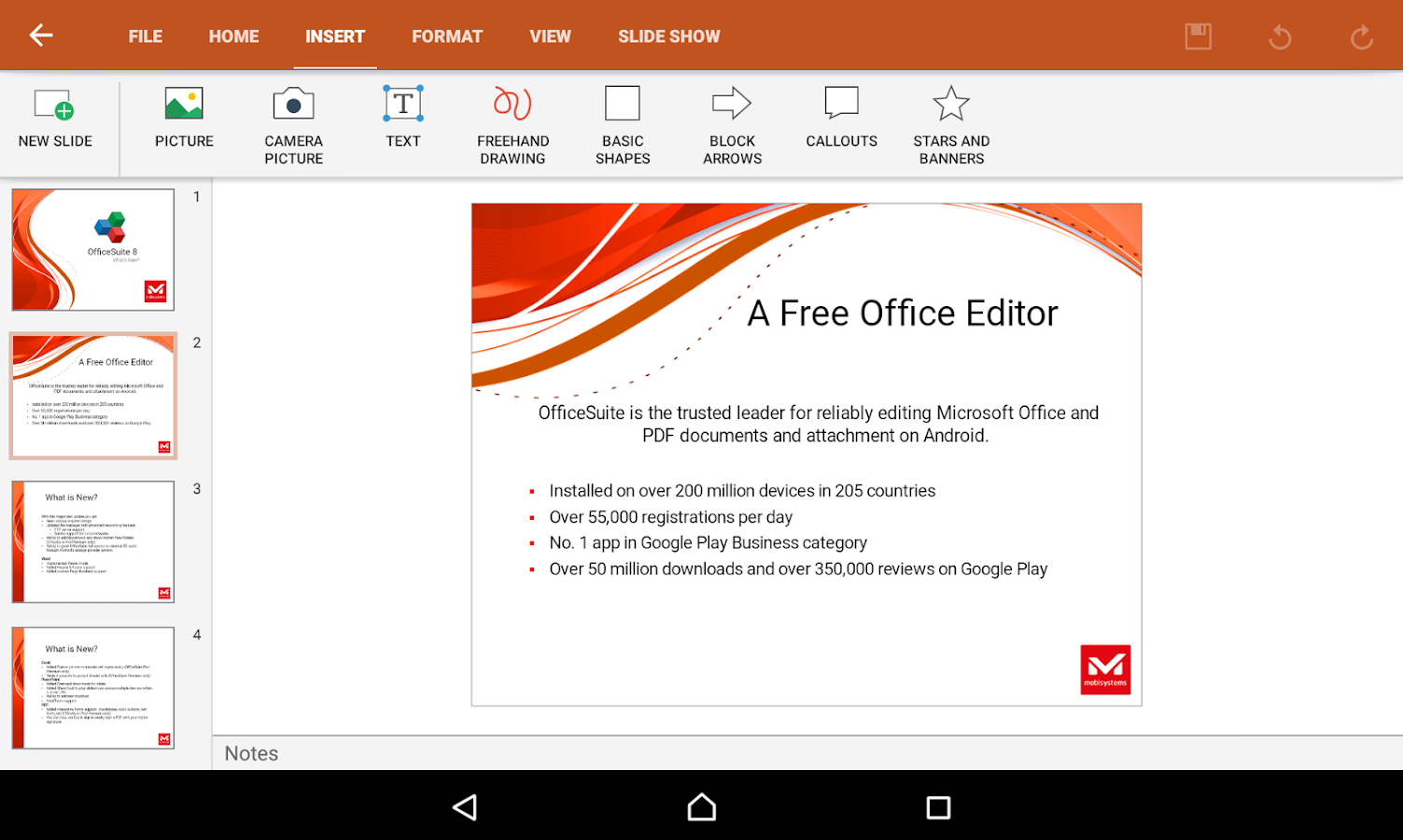 OfficeSuite 8 + PDF Editor- screenshot