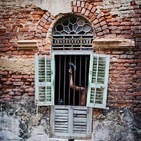 The Window Story by Ritwik Ray - City,  Street & Park  Street Scenes ( street photography )