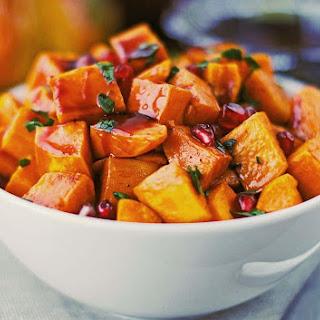 Roasted Sweet Potatoes.