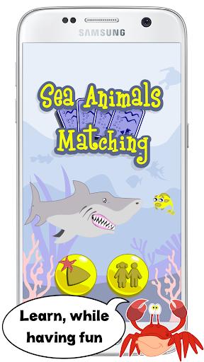 Animaux marins jeux de mémoire APK MOD (Astuce) screenshots 1