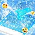 Вода Синий Клавиатура GO