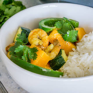 Shrimp and Sweet Potato Coconut Curry.
