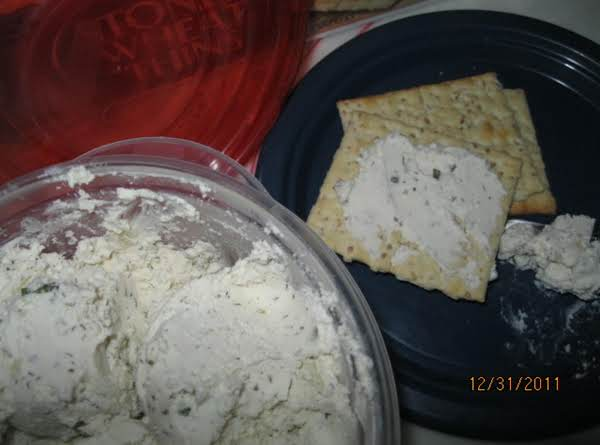 Herbsn'cheese Spread - Joyce's Recipe Shared