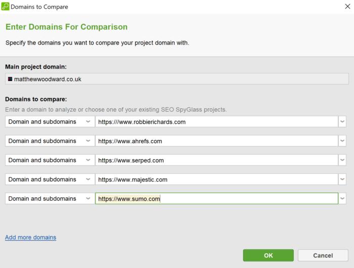 spyglass domain comparison
