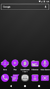Bright Purple Icon Pack v2.0 - náhled