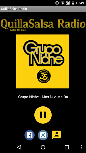 QuillaSalsa Radio Online screenshot 1