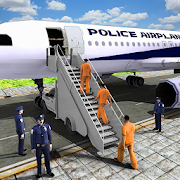 Prisoner Transport Airplane Simulator Games 2018