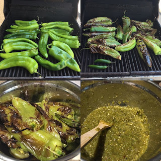 Green Chile Salsa.