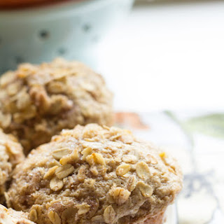 Apple Chai Spice Muffins with Oat Streusel Topping