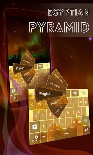 Egyptian Pyramid Keyboard