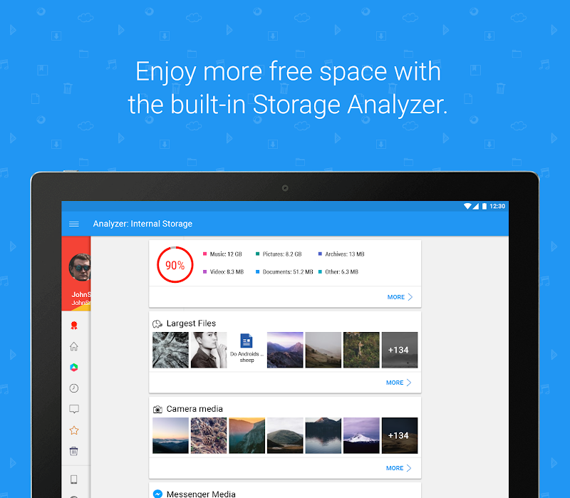 File Commander - Manager, Explorer and FREE Drive. Screenshot 10