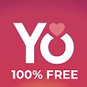 YoCutie - 100% Free Dating App icon