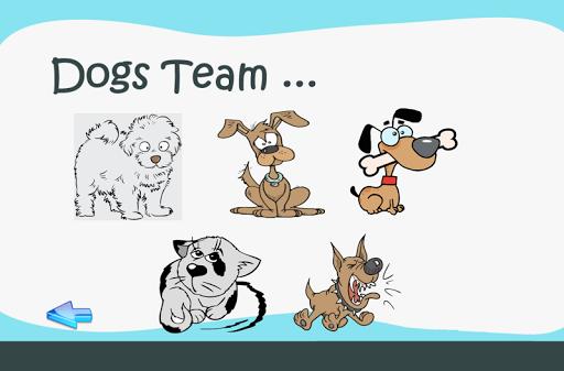 無料教育Appの猫と犬ぬりえキッド|記事Game