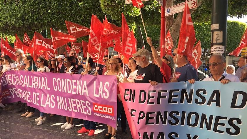 """""""El Gobierno no puede negociar con las pensiones como si fuera un trapicheo"""""""