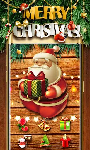 Merry Christmas Go Launcher Theme screenshot 1